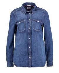 Tommy Hilfiger Shirt Blue Denim
