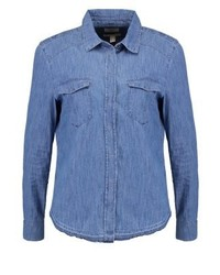 Shirt blue medium wash medium 3937044