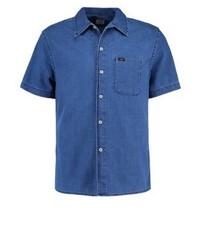 Lee Shirt Micro Blue