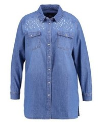 New Look Shirt Pottery Blue