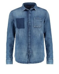 Calvin Klein Slim Fit Shirt Light Blue Denim