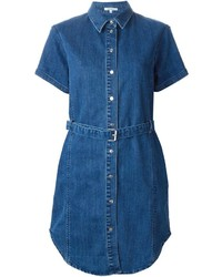Blue Denim Shirtdress