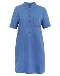 J.Crew Denim Dress Blue Denim