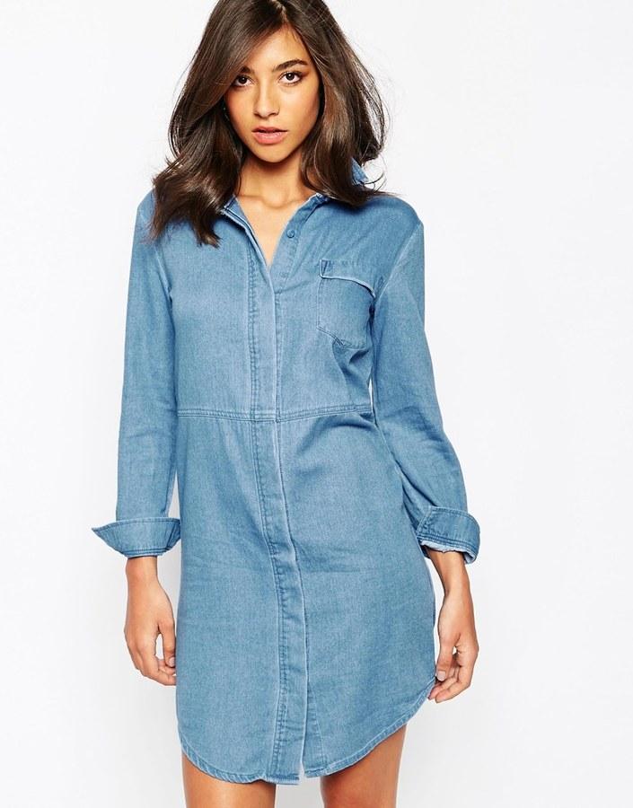 online retailer picked up best selection of 2019 £60, Warehouse Denim Shirt Dress