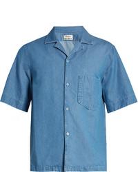 Acne Studios Elm Short Sleeved Denim Shirt