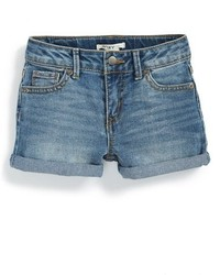 Roxy Blue Crush Cuff Denim Shorts