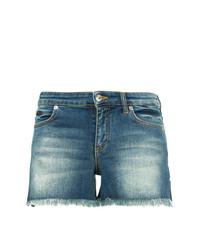 Versace Collection Contrast Pocket Denim Shorts