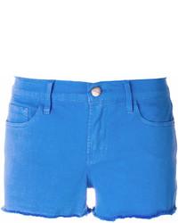 Denim raw hem denim shorts medium 7011830