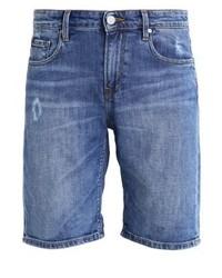 Edwin Denim Shorts Broken Wash