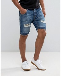 Brave Soul Fashion Fit Denim Shorts