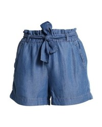 Pcklara shorts medium blue denim medium 3935495