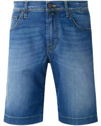 Jacob Cohen Washed Denim Shorts
