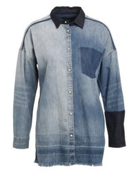 Customised shirt indigo medium 4242552