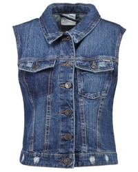 Vmpaty waistcoat medium blue denim medium 3996953