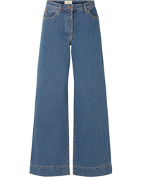The Row Anat High Rise Wide Leg Jeans