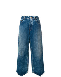 MM6 MAISON MARGIELA High Rise Cropped Jeans
