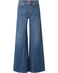 Ganni High Rise Wide Leg Jeans