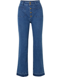 Apiece Apart Marston High Rise Straight Leg Jeans