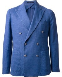 Blue double breasted blazer original 2634603