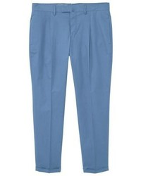 Mango Vasteras Suit Trousers Blue