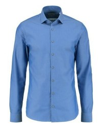Parma slim fit formal shirt blue medium 4160000