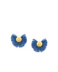 Katerina Makriyianni Hand Fan Earrings