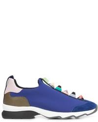 Fendi Stud Embellished Sneakers