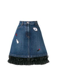 Vivetta Gomeisa Denim Skirt