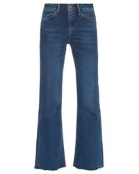 MiH Jeans Lou High Rise Flared Jeans