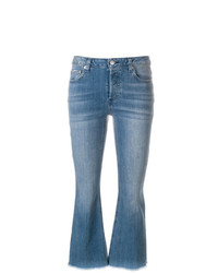 MICHAEL Michael Kors Michl Michl Kors Cropped Mid Rise Flared Jeans