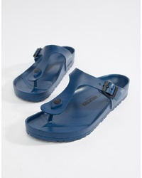 Birkenstock Gizeh Eva Sandals In Navy