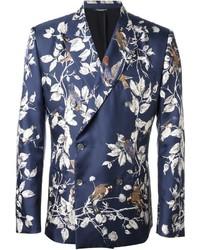 Floral print blazer medium 542588