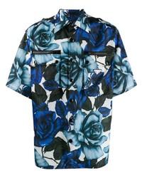 Prada Floral Shortsleeved Shirt
