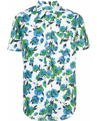 Odin Floral Print Short Sleeve Shirt