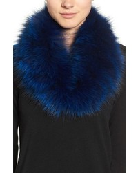Genuine fox fur cowl collar medium 1054994