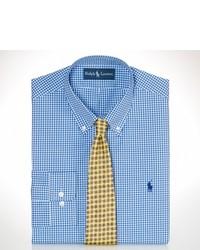 Polo Ralph Lauren Custom Fit Gingham Dress Shirt