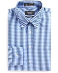 Nordstrom Shop Smartcare Tm Wrinkle Free Traditional Fit Gingham Dress Shirt