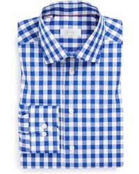 Eton Slim Fit Gingham Check Dress Shirt
