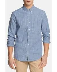 Blue Gingham Long Sleeve Shirt