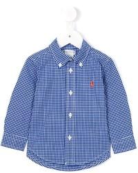 Ralph Lauren Kids Gingham Check Shirt