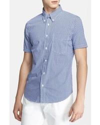 Jack Spade Maddox Short Sleeve Gingham Sport Shirt