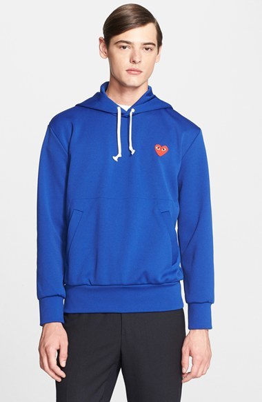 Comme des Garçons PLAY Pullover Hoodie Clearance Outlet Store Many Kinds Of Cheap Price Buy Cheap Best Prices Clearance Reliable 1veZkRpr
