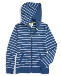 Original Penguin Boys Stripe Zip Hoodie