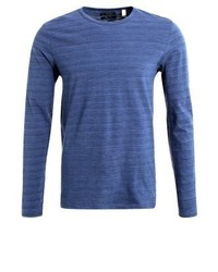 Slim fit long sleeved top navy medium 4207049