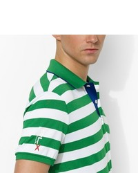Ralph Lauren Rlx Golf Slim Fit Striped Polo