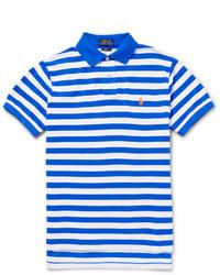 Polo Ralph Lauren Slim Fit Striped Cotton Piqu Polo Shirt
