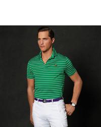 Ralph Lauren Purple Label Striped Lisle Polo