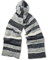 Striped cashmere scarf medium 705375