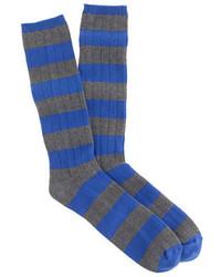J.Crew Cashmere Stripe Socks