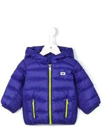Armani Junior Padded Hooded Jacket